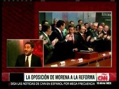 Entrevista a Martí Batres sobre la reforma energética en CNN Perspectivas