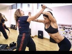 Krav Maga Techniques - Self defense against knife of special forces - YouTube