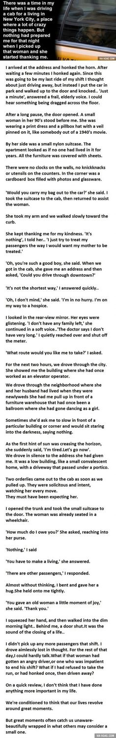 The Most Unexpected Cab Ride Ever. This Gave Me Goosebumps.