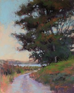 From the Easel of Barbara Jaenicke: Strokes and Edges
