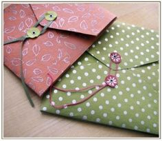 diy envelopes by Bendereight