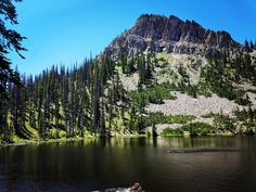 Bourbon lake Uinta Mountains