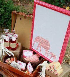 elephant birthday ideas