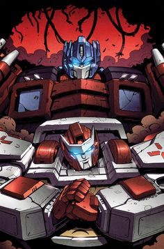 Transformers MTMTE #10 cover colors by khaamar.deviantart.com on @deviantART
