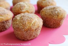 Potatocroquetter Spanish tapas - These are out of control! I need to learn how to make these too. Cinnamon Sugar Donuts, Cinnamon Muffins, Spanish Dishes, Spanish Tapas, Brest, Healthy Muffins, Mini Muffins, Fabulous Foods, Muffin Recipes