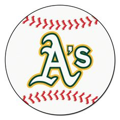 "Oakland Athletics 29"" Baseball Mat"