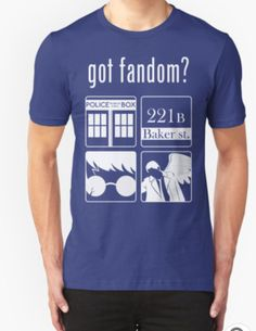 Unisex T-Shirt. fandom, rancyd, harry potter, supernatural, sherlock, doctor, who dr.who dr who This item was purchased online from a buyer who purchased bulk items from Redbubble for his retail shop.