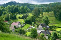 czech republic bohemia | Giant Mountains, Northern Bohemia, Czech Republic, June 2010. The area ...