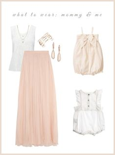 What to Wear: Mommy and Me   Be True Baby