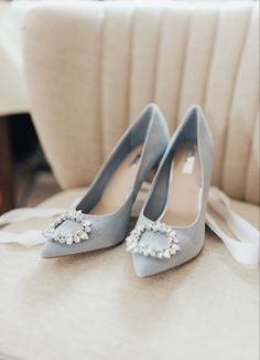 Bleu Pale, Something Blue Wedding, Wedding Boots, Blue Suede Shoes, Pale Blue Shoes, Bride Shoes, Beautiful Shoes, Bridal Accessories, Me Too Shoes
