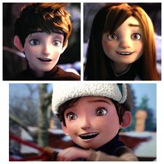 Did anyone ever think that Jack Frost took a liking to Jamie because he possibly is Jack's ancestor? His sister lived on and grew up. If she got married and had children 300 years down the line out comes Jamie! They all look just alike. Same eyes and face.