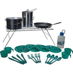 Open Country 26 Piece Backwoods Camp Kit by Open Country. Open Country 26 Piece Backwoods Camp Kit.