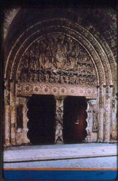 Portico del Baptisterio de la Catedral de Pisa.