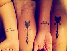 Amazing Roman Numeral Tattoos and Tattoo Designs