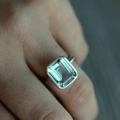 WANT THIS RING!!!!  green amethyst is so pretty.