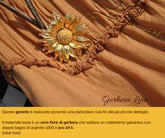 #collection #leafandflower #jewelry #gerberaline #gioiello #oro #fiore #pendant #ciondolo #madeinitaly #madeinitalynelmondo #madeinrome #artigianatoitaliano #handmade #creazionidelmadeinitaly #elisil