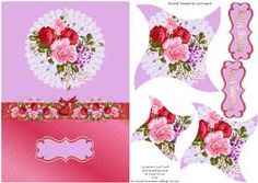 Carnations Card Front