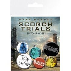 Maze Runner 2 Mix - Badge Pack Merchandise  