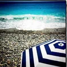 Nice, France. My favorite beach spot!