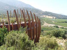 Casa Lapostolle - in Chile's wine region
