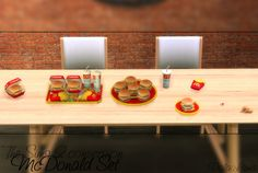 McDonald Set by DalaiLama at The Sims Lover via Sims 4 Updates