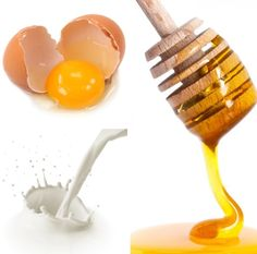 This is how to make a homemade face mask for dry skin. Eggs and Honey Mask.