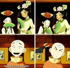 Avatar the Last Airbender: wow, you look beautiful
