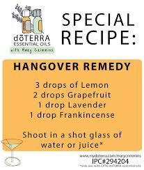 doterra hangover oils - Google Search