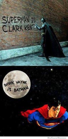 Superman wins