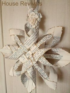 House Revivals: Christmas Swedish Advent Star -- A New Variation - tutorial