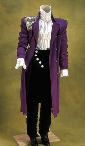 How to Make Your Own Prince Purple Rain Jacket How to Make Your Own Prince Purple Rain Costume Prince Purple Rain, Prince Costume Purple Rain, Prince Fancy Dress, Rain Costume, Prince Party, Prince Birthday, Raincoat Outfit, Estilo Rock, Wedding Dress