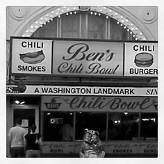 Our favorite: Ben's Chili Bowl. Available in men's  women's at http://therethere.com/washington-dc/dc-ben-s-chili.html