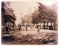 https://flic.kr/p/dvuWgb | origen del nombre de la Alameda de Santiago de Chile | Santiago de Chile, Alameda, (signed Obder W. Heffer Bisset, No. 232, size 20*28cm)