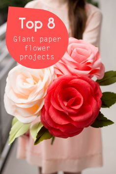 Top 8 giant paper flower projects