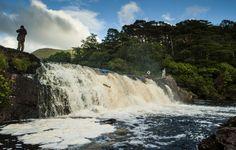 12 Gorgeous Waterfalls In Ireland You Need To Visit Before You Die Niagara Falls, Exotic, Waterfall, Travel, Outdoor, North Sea, Atlantic Ocean, Ireland, Voyage
