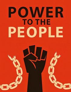 Power To The People Resistance Art