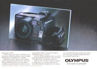 Olympus Infinity Superzoom Camera 1988 Ad Picture