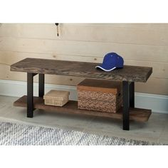 Alaterre Pomona - Media/Console, Rustic Natural | Overstock.com Shopping - The Best Deals on Entertainment Centers