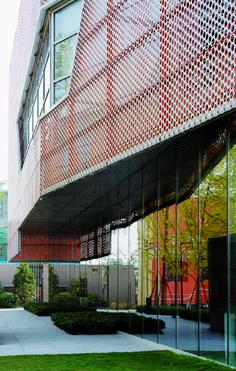 Vanke New City Center Sales Gallery,© Shu He