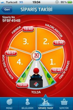 Domino's Pizza Mobile Screenshot, Domino's Pizza