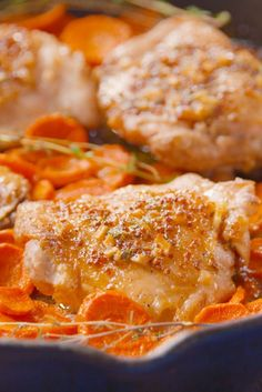 Maple Chicken & Carrots  - Delish.com