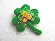"Shamrock-couldn't find this particular ""pin"" but lots of others available on her site - use this one for inspiration"