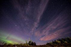 Aurora Borealis, Meteors