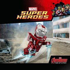 https://flic.kr/p/u7taxZ | LEGO Marvel's Avengers Silver Centurion Iron Man | Read more here: www.thebrickfan.com/lego-marvels-avengers-video-game-preo...