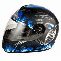 Viper RS-60 Demon full face Motorcycle helmet - Blue