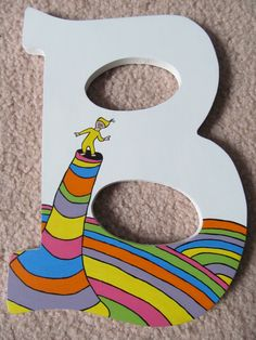 Dr. Seuss HandPainted Wooden Letters for Play by CreationsbyReb