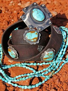 "~ Gorgeous stones, cuffs & beads from the woman who redefined ""Western Chic,"" Brit West. ~"