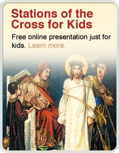 Stations du chemin de croix pour les enfants Enjoy a multimedia presentation of Stations of the Cross for Kids. Religion Activities, Teaching Religion, Catholic Catechism, Catholic Kids, Holy Week Activities, Prayer Stations, Prayers For Children, Religious Education, Bible Crafts