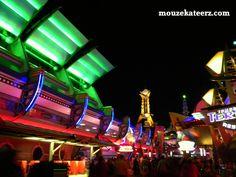 Disney's Magic Kingdom: Tomorrowland Neon Lights