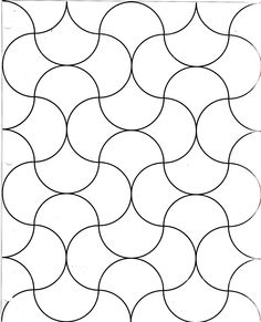 clamshell quilt design - how to make and planning your colors for the quilt - but I like this for a quilting pattern